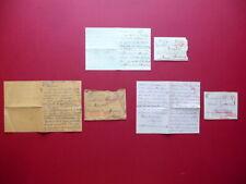 3 Lettere Prigioniero di Guerra Italiano Muratori Ungheria 1916-1917 WW1