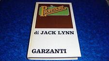 JACK LYNN.IL PROFESSORE.GARZANTI GIUGNO 1972 COP.RIGIDA BUONISSIMO!!