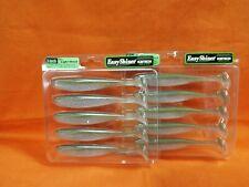 """Keitech 5 Easy Shiner Arkansas Shiner 5 Stück 12,5cm 11g 5/"""" Gummifisch NEW OVP"""