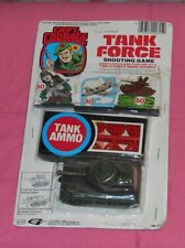 vintage Gordy CAPT. COURAGE TANK FORCE SHOOTING GAME rack toy