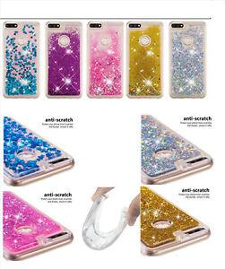 Shockproof Liquid Glitter Quicksand Anti Scratch TPU Case Cover For SONY Phone