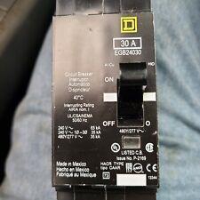 Square D Egb24030 Circuit Breaker 480277 Volt 2 Pole 30 Amp 35kaic Egb