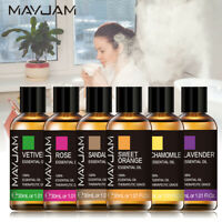 30ml Essential Oils Aromatherapy Undiluted Oil Therapeutic Fragrance Diffuser