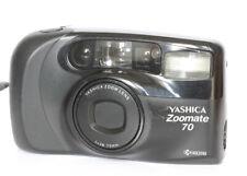Yashica Zoomate 70 zoom 38-70mm fotocamera rullino fotografico 35mm Funzionante