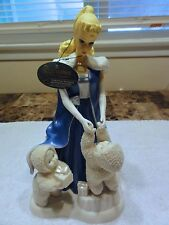 "Snowbabies Dept 56 "" Under The Midnight Moon With Barbie "" With Box -- Retired"