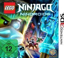Nintendo 3ds LEGO NINJAGO Nindroids NUOVO