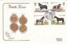 (90726) Clearance GB Cotswold FDC Cavalli Pony Shetland Stud BOOK unst 5 LUGLIO 197