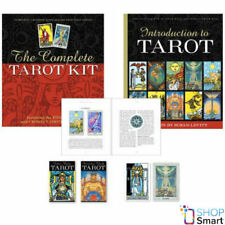 THE COMPLETE TAROT KIT RIDER-WAITE CROWLEY THOTH TAROT CARDS DECKS BOOK NEW