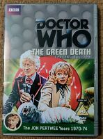 Doctor Who The Green Death DVD (Two Disc Set) Special Edition. Signed!