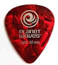10 x Planet Waves D'addario Classic Red Celluloid 0.50mm Guitar Picks Plectrums