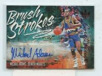 MICHAEL ADAMS 2018-19 Panini Court Kings Brush Strokes Ruby Auto Autograph /99