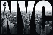 New York City Poster Freiheitsstatue mit Gratisposter