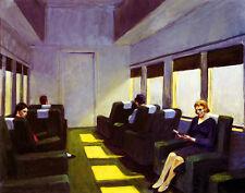 Hopper Edward Chair Car Canvas 16 x 20  #5143