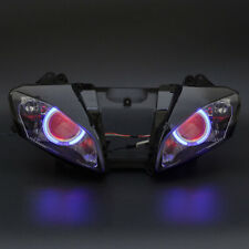 Blue Angel Red Demon Eye HID Projector Assembly HeadLamp For Yamaha YZF-R6 08-15