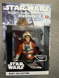 Star Wars Bust Collection: Luke Skywalker - New - Fanhome, Deagostini - Boxed