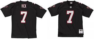 Michael Vick Atlanta Falcons #7 Mitchell & Ness NFL 2002 Black Authentic Jersey