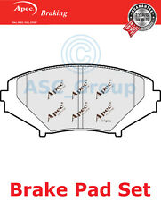 Apec Front Brake Pads Set OE Quality Replacement PAD1372