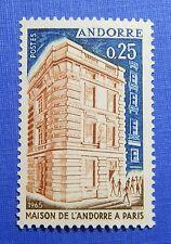 1965 ANDORRA FRENCH 25c SCOTT# 168 MICHEL # 194 UNUSED NH                CA00052