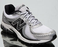 New Balance 860 Men's White Black Grey Silver Casual Lifestyle Sneakers Shoes