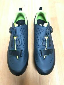 Fizik X5 Terra MTB Shoes, Grey/Yellow, 42.5