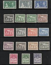TURKS & CAICOS ISLANDS 1937-1938 KING GEORGE VI STAMPS TO 10/- MINT