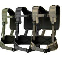 Tactical H-Harness Waist Battle Belt Suspenders Hunting Molle Vest Chest