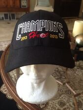 Miami Heat Champions 2013 Hat Adidas Official Authentic