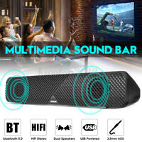 High Quality Stereo Bass Computer Soundbar Wired/bluetooth 5.0 Subwoofer for PC