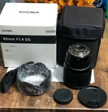 Sigma 85mm f/1.4 DG HSM Art Lens  Damage Box See Picture 4 NO MANUAL