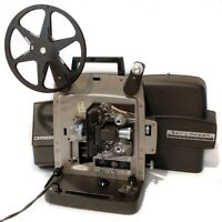 Vintage 60s BELL & HOWELL Autoload Super 8mm Film Projector 346A Working w/ Bulb