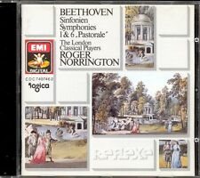 BEETHOVEN - Symphonies 1 & 6 - Roger NORRINGTON - London Classical Players - EMI