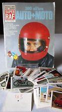 300 ALL'ORA AUTO+MOTO-SUPER RAF 1974-FIGURINA a scelta-STICKER at choice-NUOVE