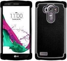 GizzmoHeaven LG G4 Shock Proof Phone Case Heavy Duty Hard Stylish GEL Rubber LG