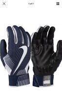 Nike D‑Tack Padded Lineman Football Gloves  Black White Men's XXL  GF0634-091