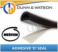 Self Adhesive 'D' Shape Seal - (Medium) Water & dust protection (Car, Truck)
