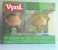 Funko Vynl The Wizard Of Oz Dorothy and Toto & The Scarecrow Excellent Condition