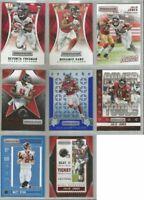 Atlanta Falcons 8 card 2016 Rookies & Stars insert & parallel lot-all different