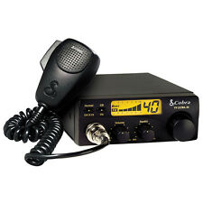 Cobra 19ULTRAIII 40 Channel Compact Citizen Band Radio with Microphone & Display