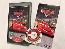 Sony Psp Juego Disney/Pixar Cars + CAJA y INSTRUCCIONES/Completo