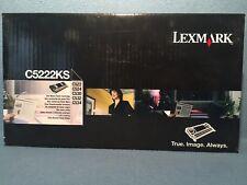 Genuine Lexmark C5222KS Black Toner Cartridge for C522 C524 C530 C532 C534