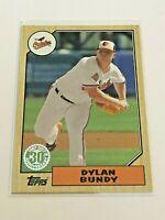 2017 Topps Baseball '87 Topps Insert - Dylan Bundy - Baltimore Orioles