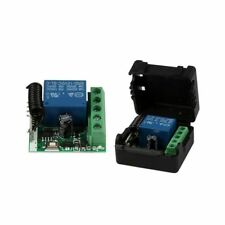 DC 12V 1CH 433MHz Interruptor de control remoto inalambrico universal Recep K5H9