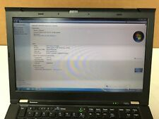 Lenovo Thinkpad T420s Laptop Intel i5-2520M @2.50Ghz 8GB MEM 128GB SSD Win 7