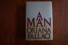 A Man, by Oriana Fallaci, 1980, First Edition, First Printing