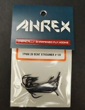 Ahrex TP650 Bent 26º Predator Streamer Hooks New/Sealed 12 Hook Pack Size #1/0