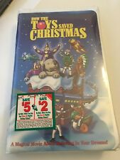 How the Toys Saved Christmas {VHS 1997} Animated Children & Family