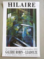 HILAIRE Camille Affiche originale PERRUCHE OISEAU  NANCY Paris Metz postcubisme