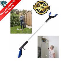 Heavy Duty 32 Long Reaching Tool Reacher Grabber Handicap Grip Aid Trash Pick Up