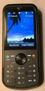 Motorola ZINE ZN5 - Black (T-Mobile) Cell Phone Fast Shipping MINT Test Unit