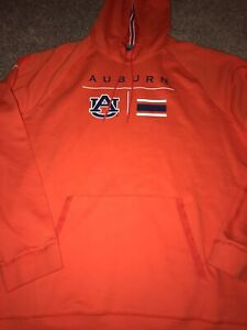 Under Armour Auburn Tigers Sideline Campus Long Sleeve Pullover Hoodie 3XL